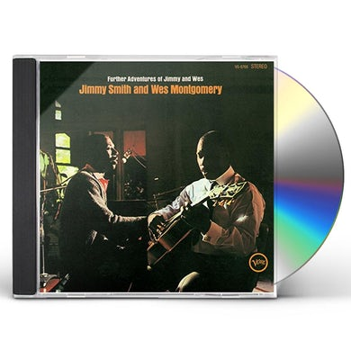 Jimmy Smith FURTHER ADVENTURES OF JIMMY & WES CD