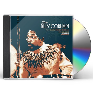 Billy Cobham LIVE ELECTRIC BALLROOM IN DALLAS TEXAS 1975 CD