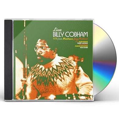 Billy Cobham LIVE AT MONTREUX SWITZERLAND 1978 CD