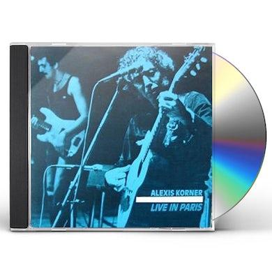 Alexis Korner LIVE IN PARIS CD