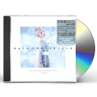 Priscilla Chan Wai-Han BACK TO PRISCILLA LIVE CD