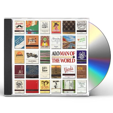 Alo MAN OF THE WORLD CD