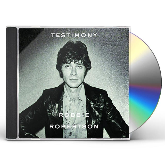 Robbie Robertson TESTIMONY CD