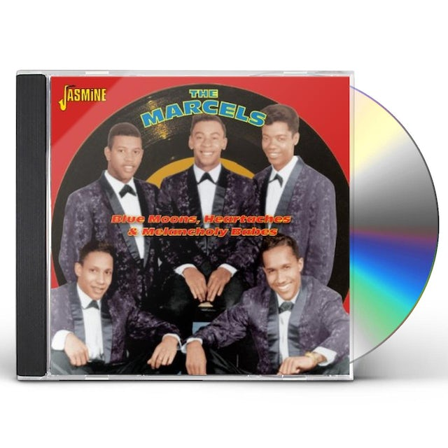 Marcels BLUE MOONS HEARTACHES CD