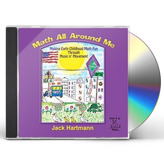 Jack Hartmann MATH ALL AROUND ME CD
