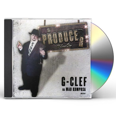 G-Clef Da Mad Komposa PRODUCER 1 CD