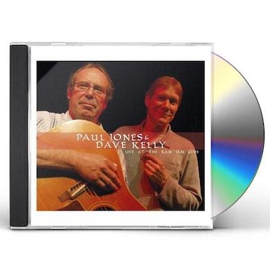 Paul Jones LIVE AT THE RAM JAM CLUB CD