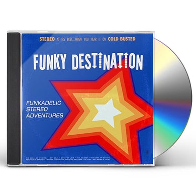 Funky Destination FUNKADELIC STEREO ADVENTURES CD
