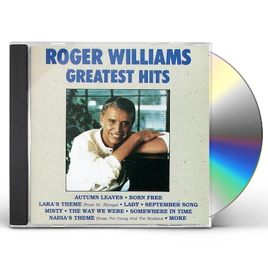 Roger Williams GREATEST HITS CD