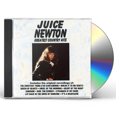 Juice Newton GREATEST COUNTRY HITS CD