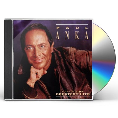Paul Anka FIVE DECADES OF HITS CD