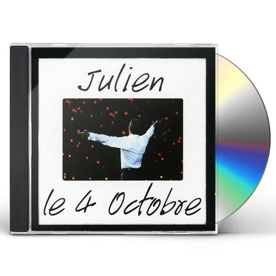 Julien Clerc 4 OCTOBRE CD