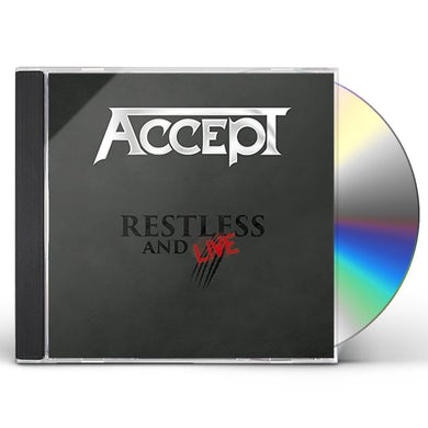 Accept RESTLESS AND LIVE CD