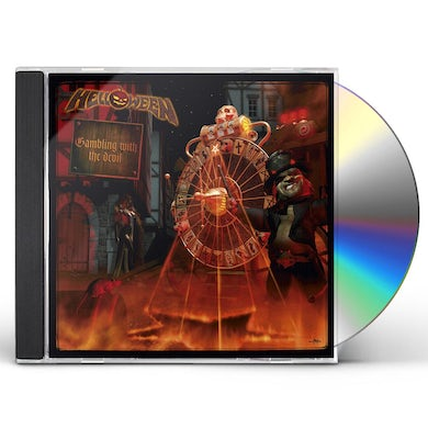 Helloween GAMBLING WITH THE DEVIL CD