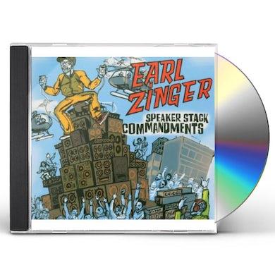 Earl Zinger SPEAKER STACK COMMANDMENTS CD