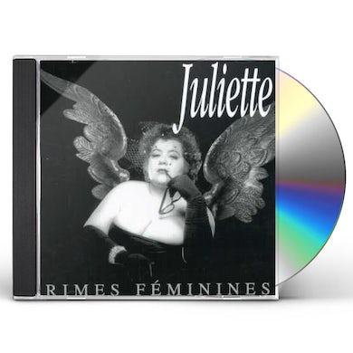 JULIETTE RIMES FEMININES CD