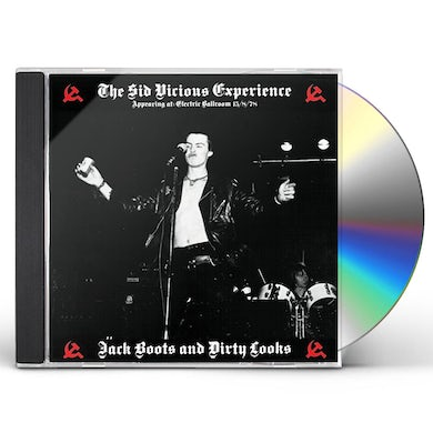 Sid Vicious JACK BOOTS & DIRTY LOOKS CD