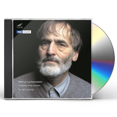Helmut Lachenmann COMPLETE STRING QUARTETS / JACK QUARTET CD