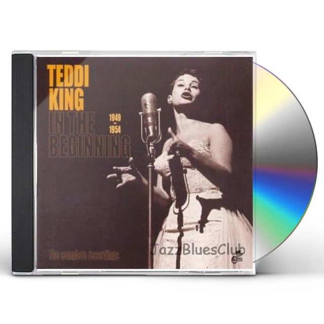 Teddi King IN THE BEGINNING 1949-1954 CD