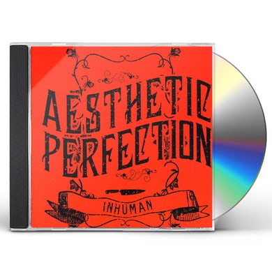 AESTHETIC PERFECTION INHUMAN CD