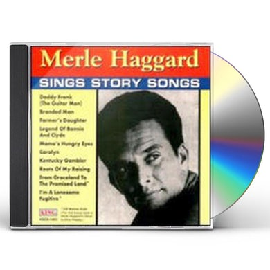Merle Haggard SINGS STORY SONGS CD