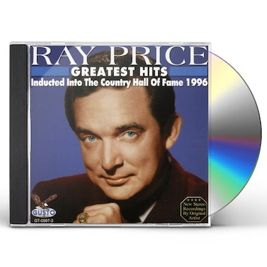 Ray Price GREATEST HITS: HALL OF FAME 1996 CD