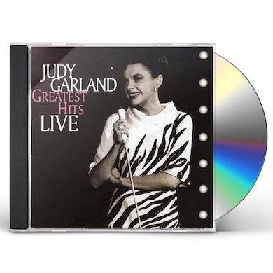 Judy Garland GREATEST HITS LIVE CD