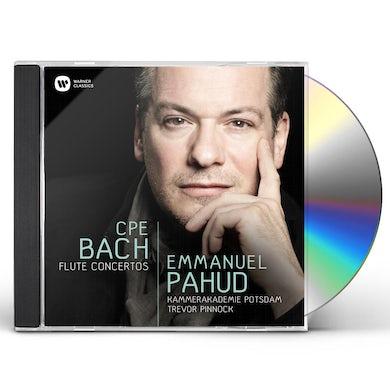 Emmanuel Pahud CPE BACH: FLUTE CONCERTOS CD