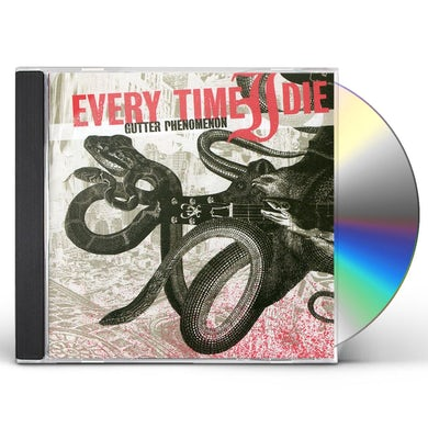 Every Time I Die GUTTER PHENOMENON CD