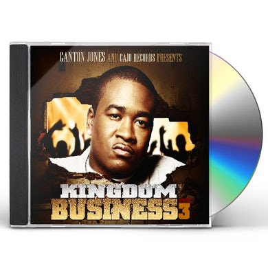 Canton Jones KINGDOM BUSINESS 3 CD