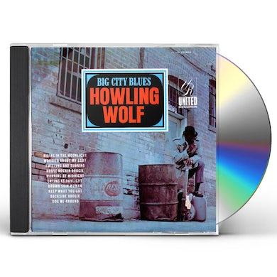 Howlin' Wolf BIG CITY BLUES CD