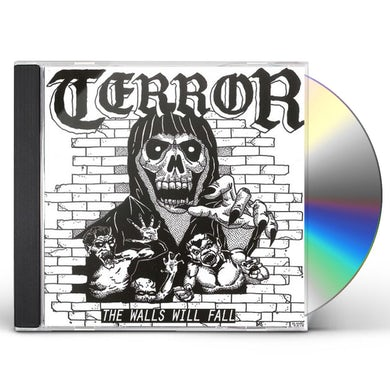 Terror WALLS WILL FALL CD