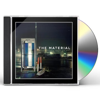 Material EVERYTHING I WANT TO SAY CD
