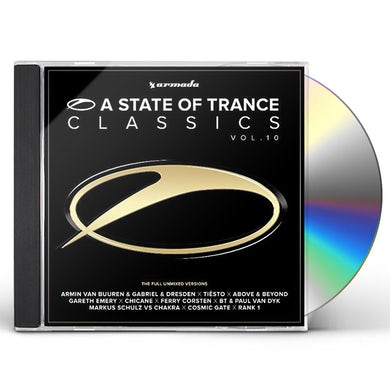 STATE OF TRANCE CLASSICS 10 CD