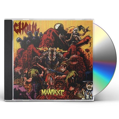 Ghoul MANIAXE CD