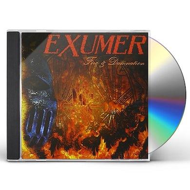 Exumer FIRE & DAMMATION CD