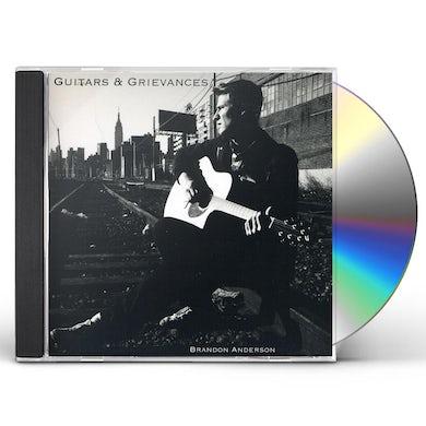 Brandon Anderson GUITARS & GRIEVANCES CD