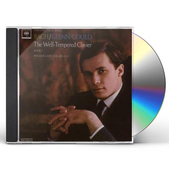 Glenn Gould BACH: WELL-TEMPERED CLAVIER, BOOK I CD