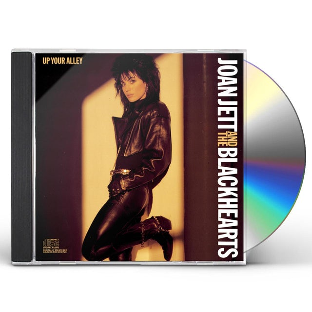 Joan Jett & The Blackhearts UP YOUR ALLEY CD