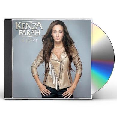 Kenza Farah 4 LOVE CD
