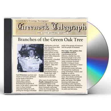 Carl Peterson BRANCHES OF THE GREEN OAK TREE CD