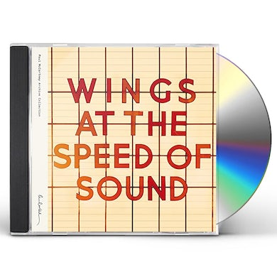 Paul McCartney & Wings AT THE SPEED OF SOUND CD