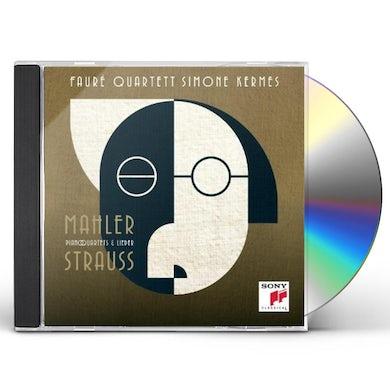 Simone Kermes MAHLER/STRAUSS PIANO QUARTETS CD