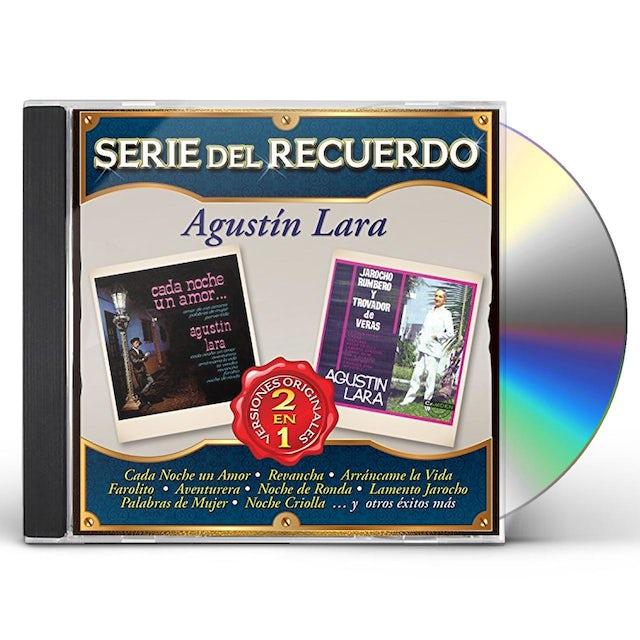 Agustin Lara SERIE DEL RECUERDO CD