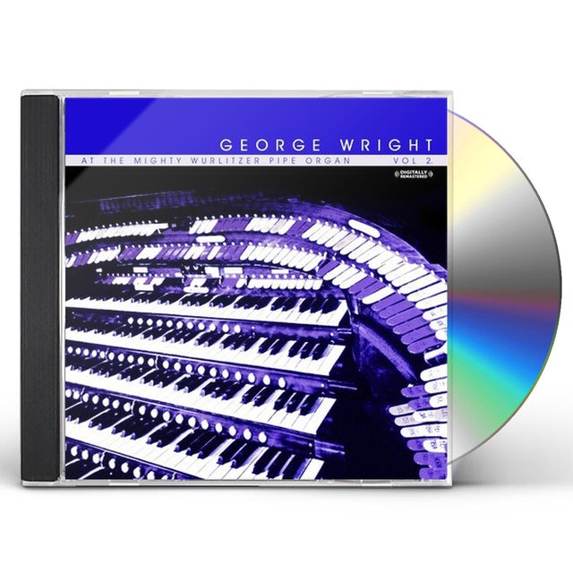 George Wright AT THE MIGHTY WURLITZER PIPE ORGAN, VOL. 2 CD