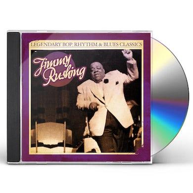 Jimmy Rushing LEGENDARY BOP RHYTHM & BLUES CLASSICS CD