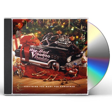 Big Bad Voodoo Daddy  EVERYTHING YOU WANT FOR CHRISTMAS CD