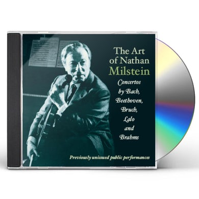 ART OF NATHAN MILSTEIN CD