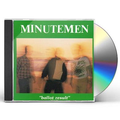 Minutemen BALLOT RESULTS CD