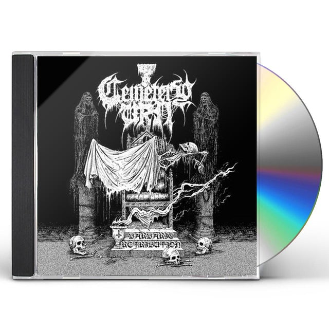 Cemetery Urn BARBARIC RETRIBUTION CD